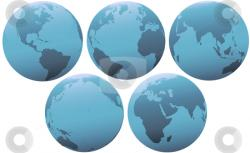 Planet Earth clipart problem