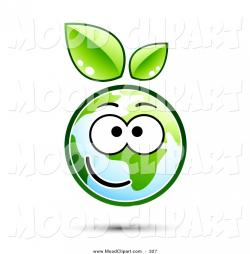 Planet Earth clipart smiling