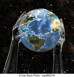 Planet Earth clipart space drawing