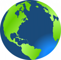 Planet Earth clipart transparent