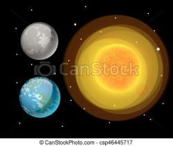 Universe clipart star planet