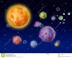 Universe clipart planet
