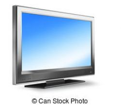 Plasma clipart flat screen tv