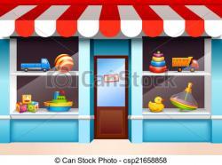 Shop clipart shop window