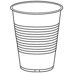 Mug clipart plastic cup