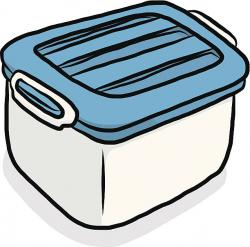 Container clipart plastic box