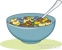 Breakfast clipart cereal bowl