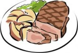 Diner clipart roast beef