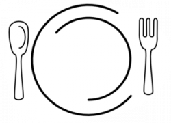Plate clipart empty plate