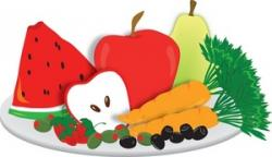 Carrot clipart healthy snack