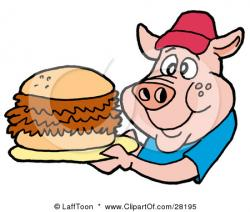 Barbecue clipart bbq sandwich