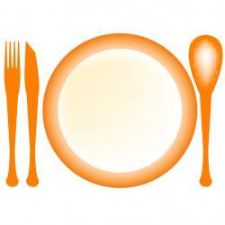 Plate clipart main dish