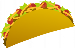 Spanish clipart taco