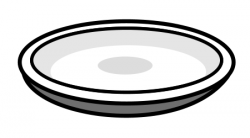 Plate clipart oval