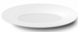 Plate clipart simple