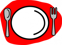 Plate clipart spoon fork