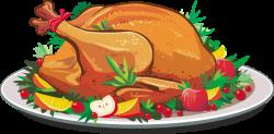 Feast clipart thanksgiving dinner