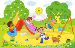 Places clipart kids park