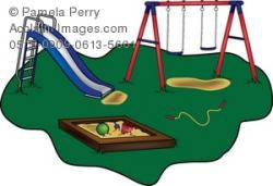 Swing clipart school playground