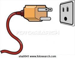 Electrical clipart plug socket