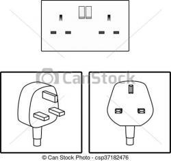 Plug clipart three