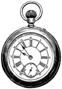 Watch clipart pocket watch