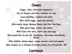 Poem clipart biography