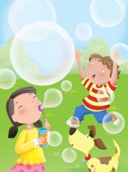 Poem clipart bubble blowing