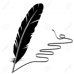 Quill clipart vector