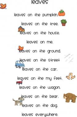 Poem clipart finished work