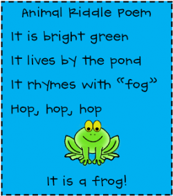 Poem clipart first grade