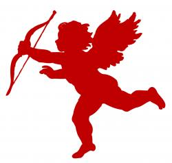 Red clipart cupid