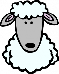 Templates  clipart sheep