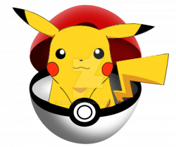 Pikachu clipart pokemon ball