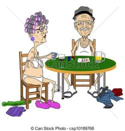Poker clipart cartoon