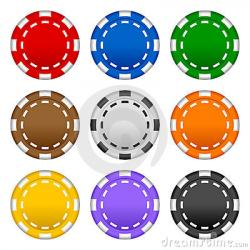 Chips clipart poker
