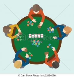Poker clipart poker table