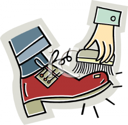 Poland clipart clean shoe
