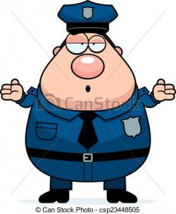 Police clipart confused