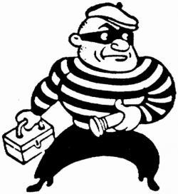 Criminal Clipart Black And White