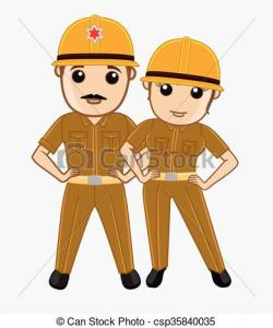 Police clipart indian policeman