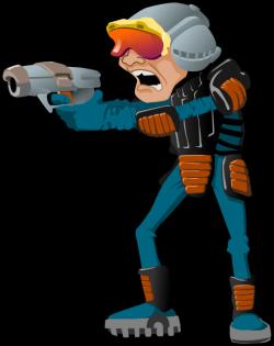 Sci Fi clipart space man