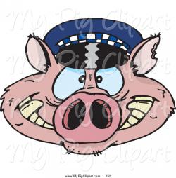 Police clipart pig