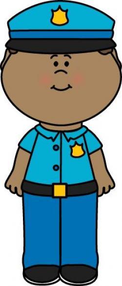 Uniform clipart cop