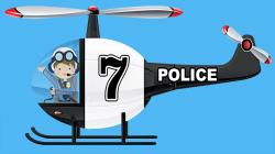 Police clipart police helicopter