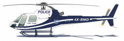 Light Blue clipart police helicopter