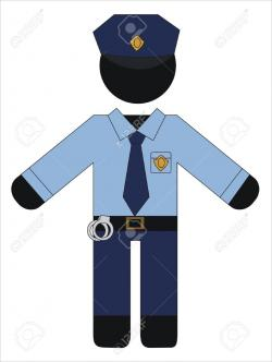 Police clipart police uniform