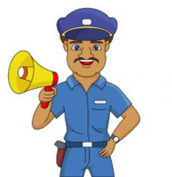 Police clipart safety officer