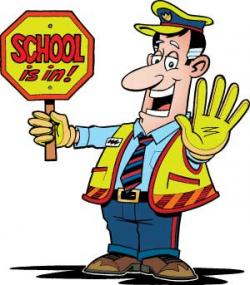 Police clipart school security guard