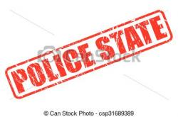 Police clipart stamp